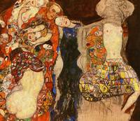 Gustav Klimt's The Bride