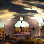 """Christian Arch Arizona"" by Columellaarts"