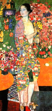 Gustav Klimt's The Dancer