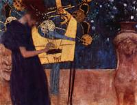 Gustav Klimt's The Music