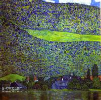 Gustav Klimt's Unterach at the Attersee