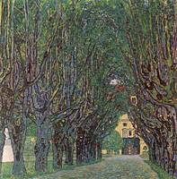 Gustav Klimt's Way to the Park