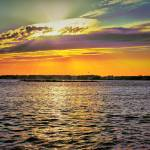 """Bayside Sunset - OC Maryland"" by robbdee40"