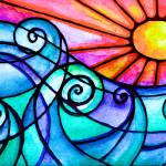 """surfsuplargesolardayglowdisp"" by ArtisticAbstraction"