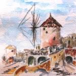 """""""Santorini VIII"""" by edwardobermueller"""