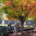 """korean war memorial during fall washington dc"" by dcphoto"