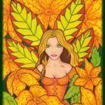 """""""A Garden Fairy"""" by bambiwatson"""