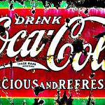"""Classic Coca Cola Sign"" by crazysuncompany"
