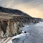 """California Coast at Sunset"" by digitalvisions"