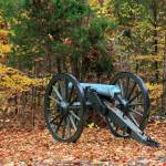 """Civil War Cannon in the Fall"" by jones3006"