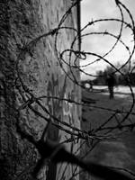 Berlin Wall Barbed-wire