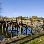"""Olde North Bridge in Minuteman State Park"" by digitalvisions"