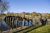 Olde North Bridge in Minuteman State Park