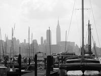 Masts on the Hudson