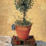 """Angel Ivy Topiary by K. Yaude"" by kyaudeart"