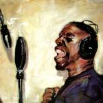 """Live Session Vocal Tracks Painting by Ginette"" by GinetteCallaway"