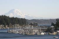 Gig Harbor &  Mt Rainier
