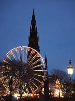 Scott Monument - Edinburgh Winter Market 2008