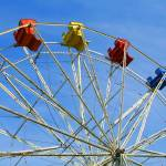 """Colorful Ferris Wheel"" by digitalvisions"
