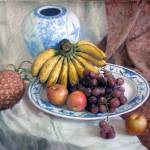 """Fruits"" by LiLianFineArt"