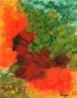 Autumn Equinox Abstract From Painting