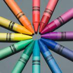 """Crayon color wheel"" by rtphotography"