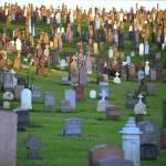 """""""Calvary Cemetery: stones"""" by Kliman"""