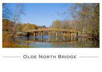 Olde North Bridge in Concord MA