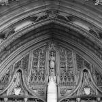 """Heinz Chapel Tympanum, Pittsburgh PA"" by estrawser"