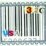 """USA stamp - 32 cents - UPC code"" by rozine"