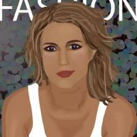 She's in Fashion Art Prints & Posters by Richard Scott
