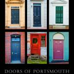 """Doors of Portsmouth New Hampshire"" by digitalvisions"