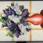 """Lilacs 2 16x20"" by AnnaGrzesik"