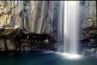 LIGURIA LANDSCAPES Ferraia Valley waterfall