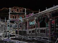 Ruidoso fruit stand 2 in Neon