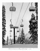 Alta Chairlift and John Muir