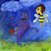 Fart Monster Meets Bee Boy