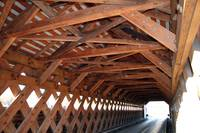 Covered Bridge Interior Woodwork