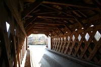 Covered Bridge Interior