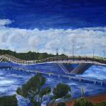 """Hanging Bridge"" by ToblerArts"