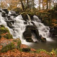 The Cascades at Virginia Water Lake