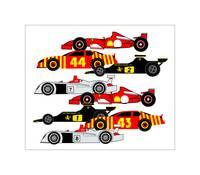 8 Racing Cars - Audi, Ferrari, Lotus, Nascar