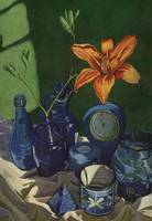 Still Life with Day Lily