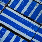 """blue bricks and stripes"" by justindavanzo"