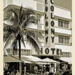 """South Beach Art Deco Hotel, Miami Beach"" by enigmafoto"