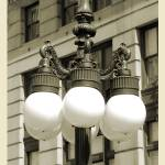 """Old Chicago Streetlight"" by enigmafoto"