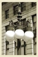 Old Chicago Streetlight