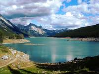 Medicine Lake. Jasper National Park. Canada