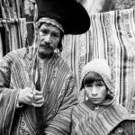 """father and child at pisac"