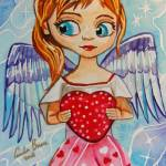 """THE LITTLE ANGEL OF LOVE By Gordon Bruce"" by GORDONBRUCEART"